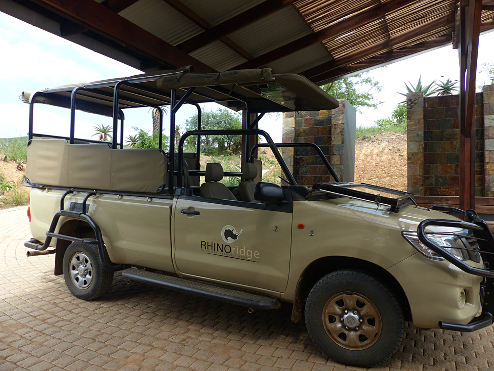 Raewyn Reid - Rhino Ridge Lodge Game Vehicle, South Africa