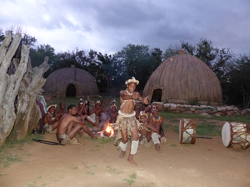 Raewyn Reid - Zulu Dancers Performing in KwaZulu Natal, South Africa