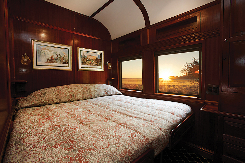 Shongololo Express Gold Double Suite, Africa