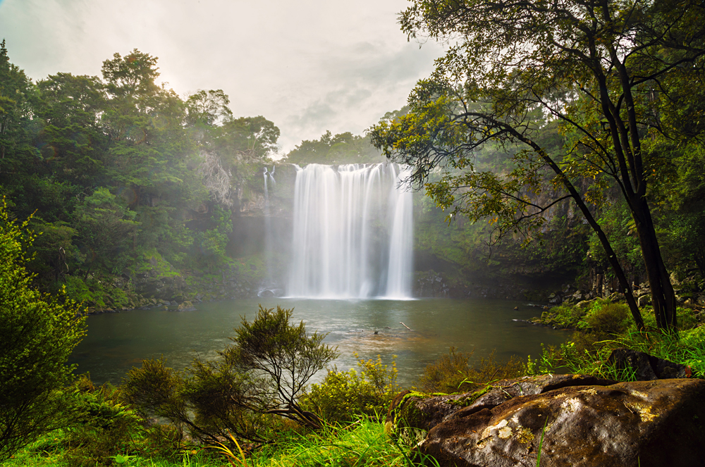 A Short Walk Along the Kerikeri River Leads You to the Spectacular 27 metre Waterfall Rainbow Falls