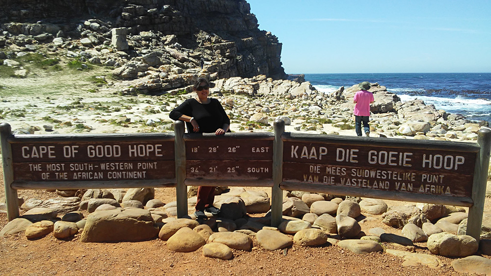 Bijal Kana - Bijal at Cape of Good Hope, South Africa