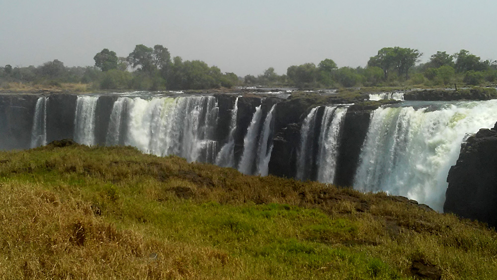 Bijal Kana - View of Victoria Falls, Zimbabwe