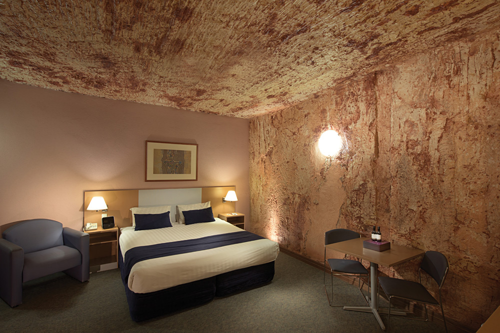 Desert Cave Hotel Suite in Coober Pedy, Australia