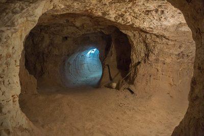 Opal Mine in Coober Pedy, Australia