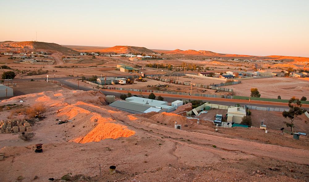 Panorama of Coober Pedy, South Australia