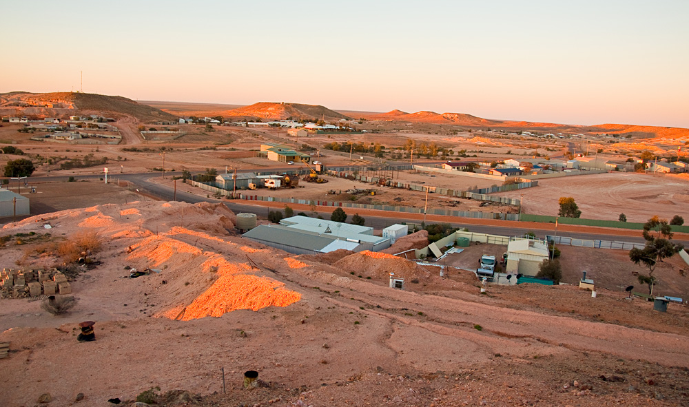 Panorama of Coober Pedy, South Australia
