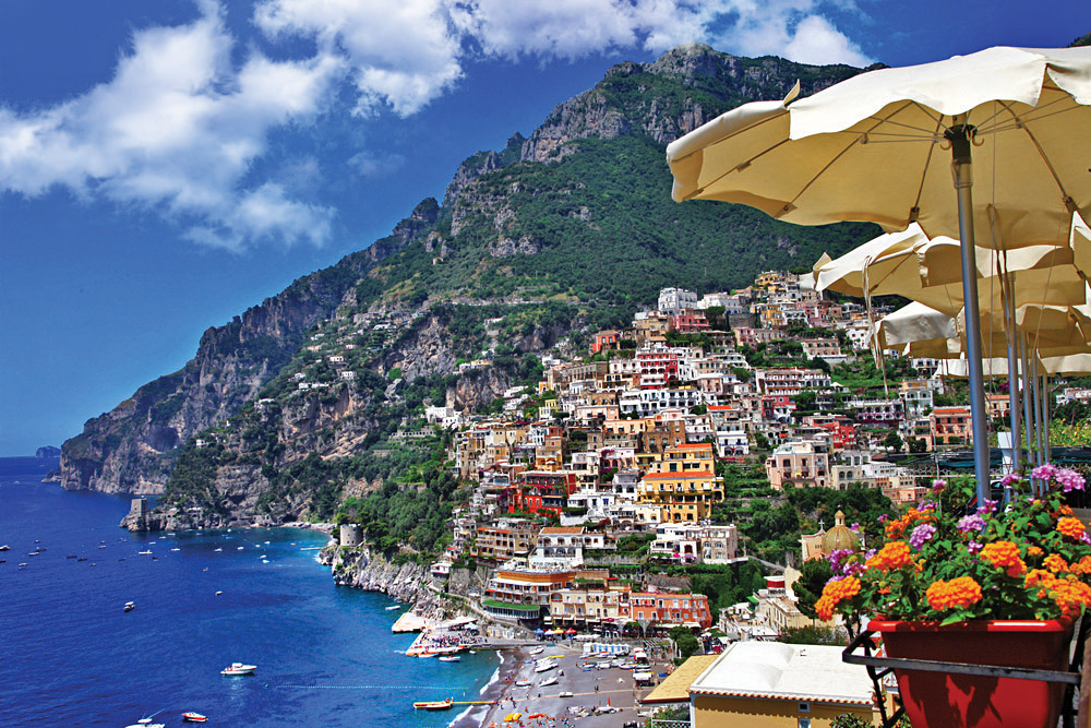Positano, Along the Amalfi Coast, Italy