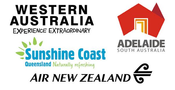STO (State Tourist Office) Australia Logos