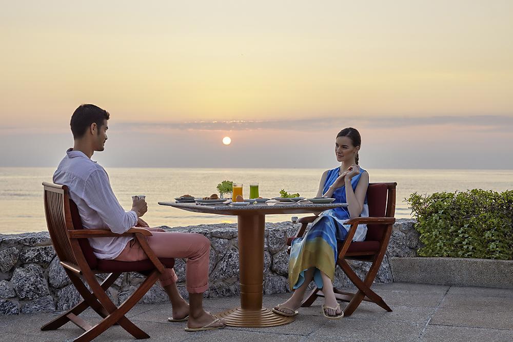 Breakfast at Chiva-Som International Health Resort, Hua Hin, Thailand