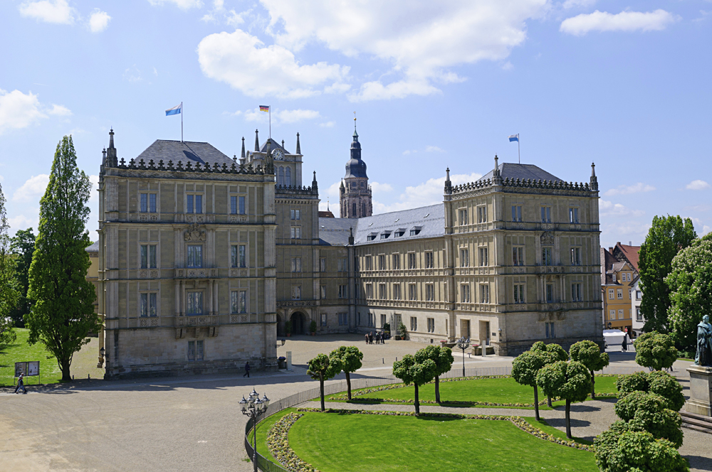 Ehrenburg Palace, Coburg, Bavaria, Germany