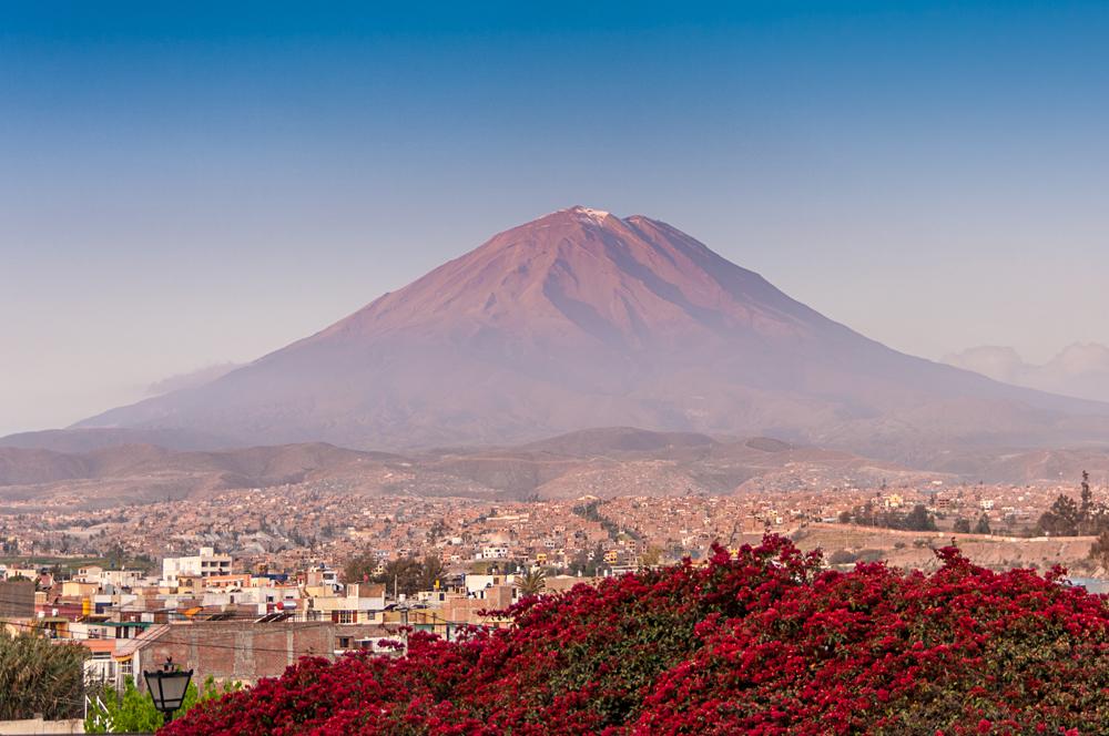 El Misti Volcano Near Arequipa, Peru