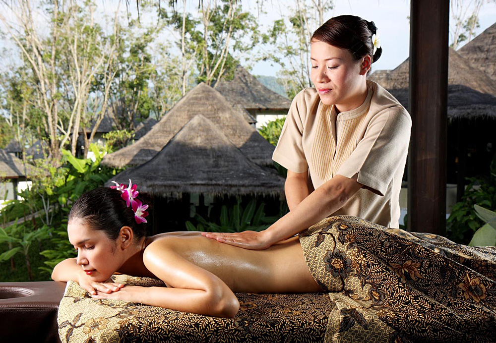 Enjoy a Massage at the V Spa at Vijitt Resort Phuket, Thailand