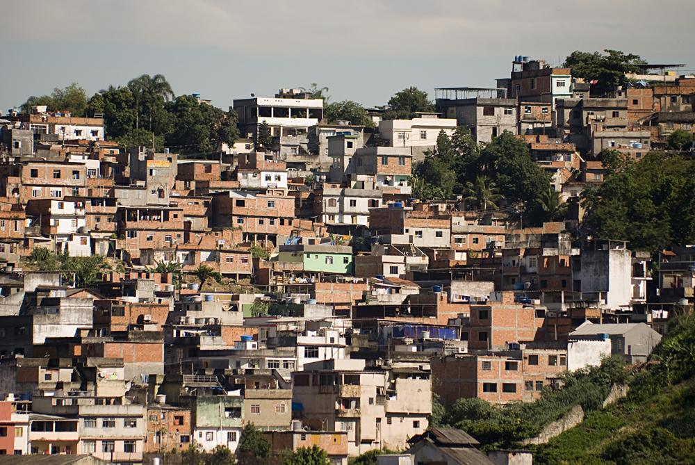 Favela in Rio de Janeiro, Near the Famous Mangueira Samba School, Brazil