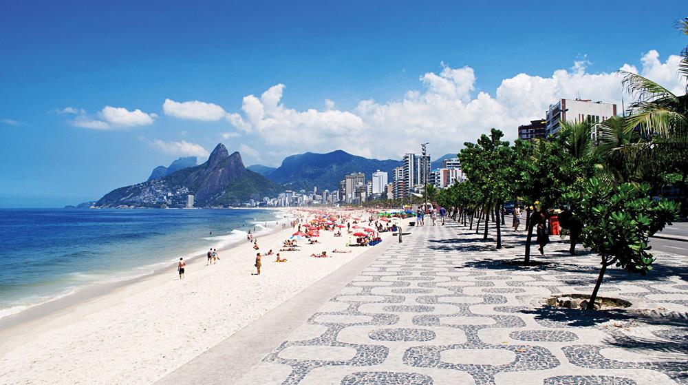 Ipanema Beach District, Rio de Janeiro, Brazil