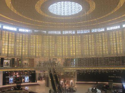 Kirsty Perring - Inside the Dubai Mall, Dubai, United Arab Emirates (UAE)