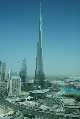 Kirsty Perring - View of the Burj Khalifa, Dubai, United Arab Emirates (UAE)