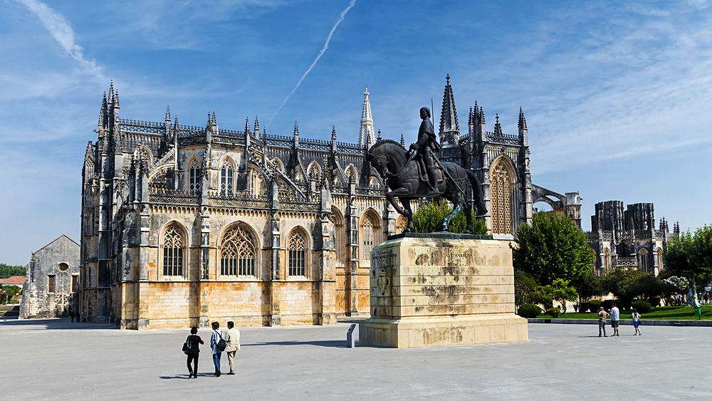 Monastery of Santa Maria da Vitoria in Batalha, Portugal
