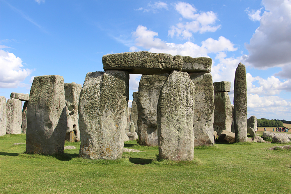 Prehistoric monument of Stonehenge, England, UK