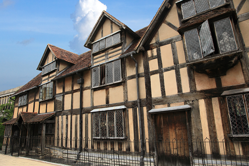 Shakespeare's House in Stratford upon Avon, England, UK