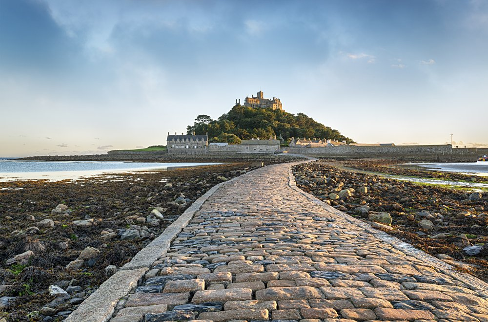 St Michael's Mount in Cornwall, England, UK