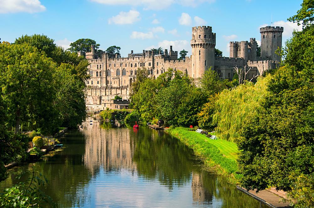 Warwick Castle, Warwickshire, England, UK