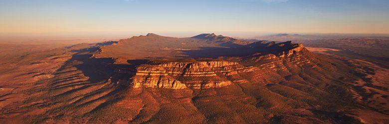 Wilpena Pound Aerial View, South Australia, Australia