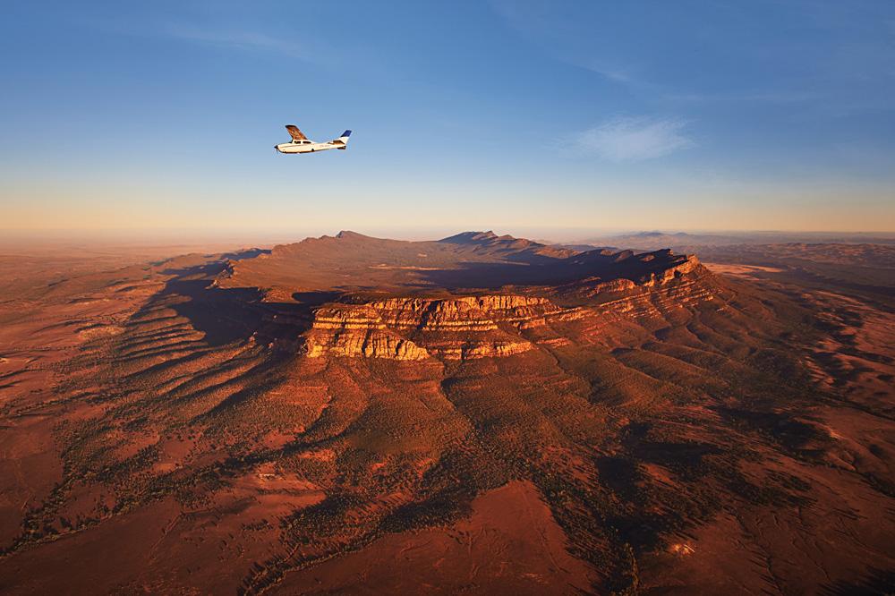 Wilpena Pound Aerial View, South Australia, Australia