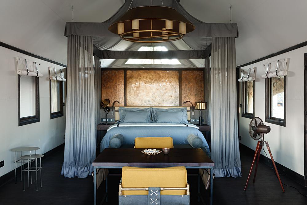 Belmond Eagle Island Lodge Bedroom, Okavango, Botswana