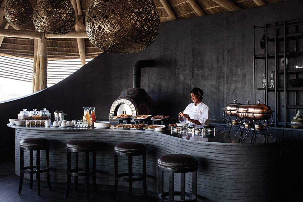 Belmond Eagle Island Lodge Restaurant, Okavango, Botswana
