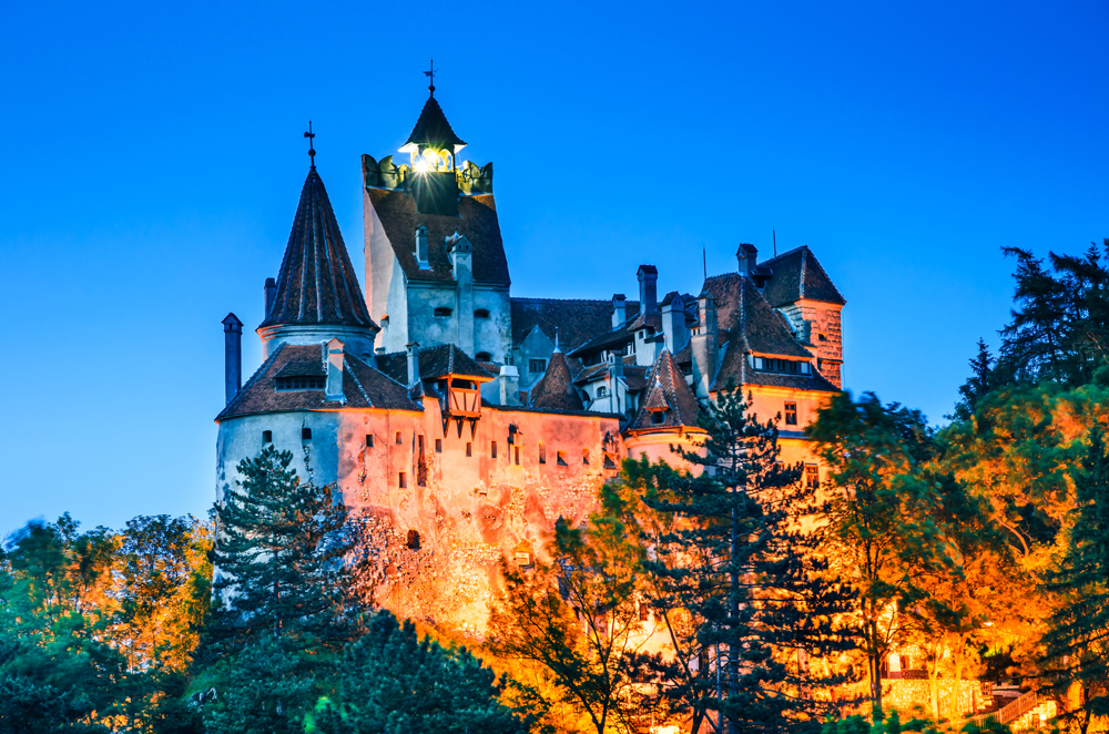 Bran Castle, known for Dracula's myth, Brasov, Transylvania, Romania_367606535