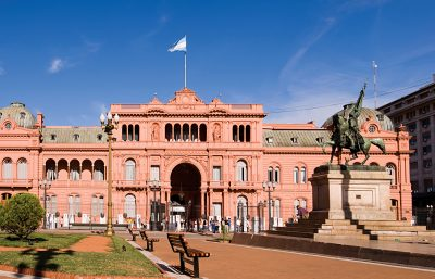 Casa Rosada Presidential Palace, Centros District, Buenos Aires, Argentina