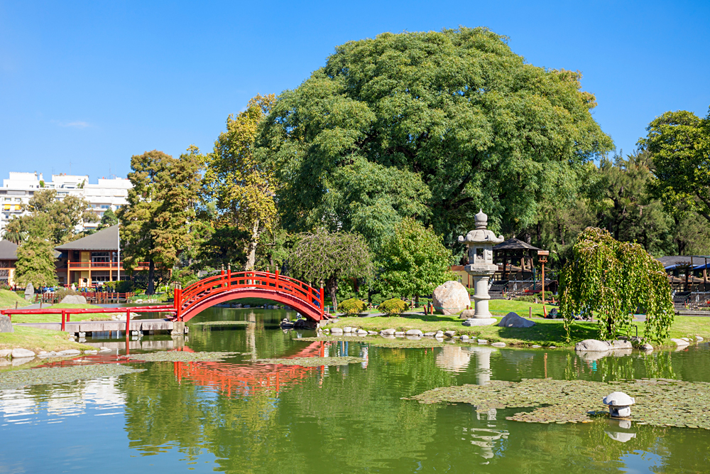 Japanese Gardens in Palermo District, Buenos Aires, Argentina_443475481