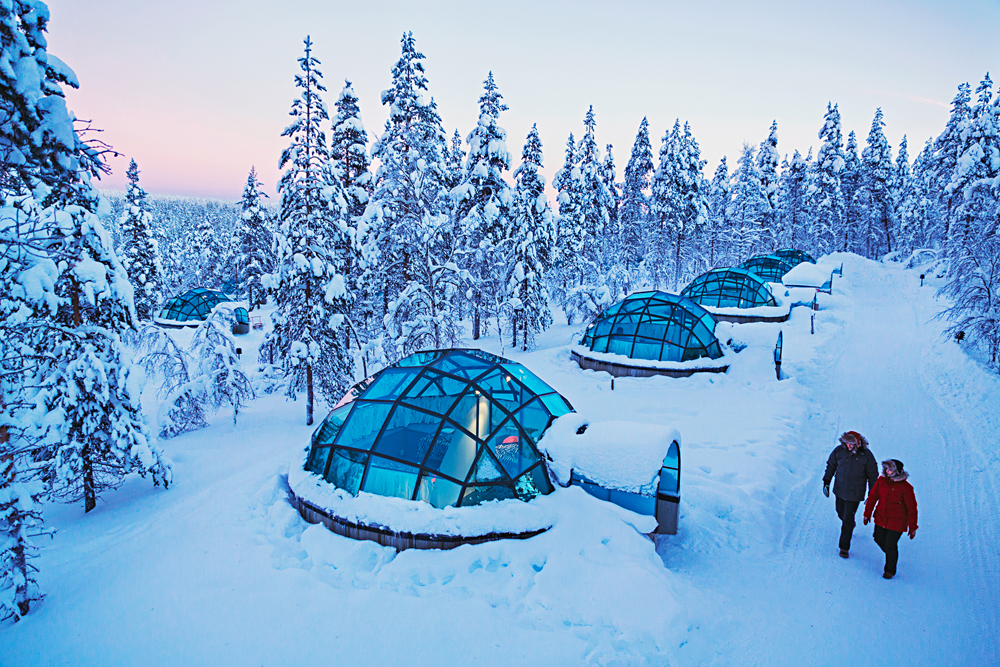 Kakslauttanen Arctic Resort - Glass Igloos, Finnish Lapland, Finland