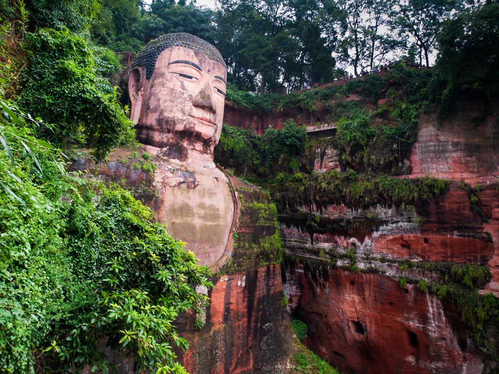 Leshan Giant Buddha, Leshan, Sichuan Province, China