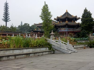 Nicky Cox - Temple in Emei, Sichuan Province, China