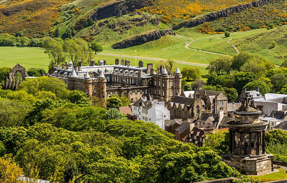 Palace of Holyroodhouse, Edinburgh, Scotland, United Kingdom UK