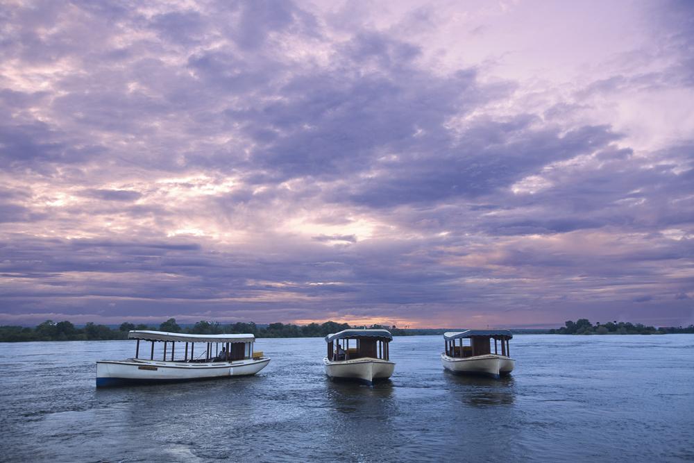 Ra-Ikane Sunset Cruise Vessels, Victoria Falls, Zimbabwe