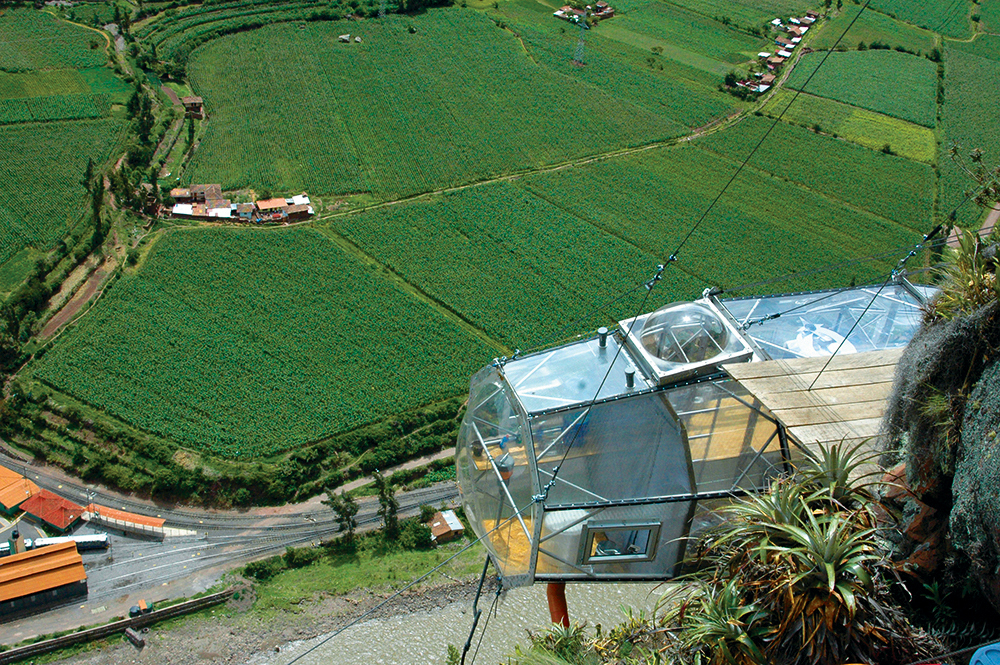 Sky Lodge Pod with Stunning Views of the Sacred Valley, Peru