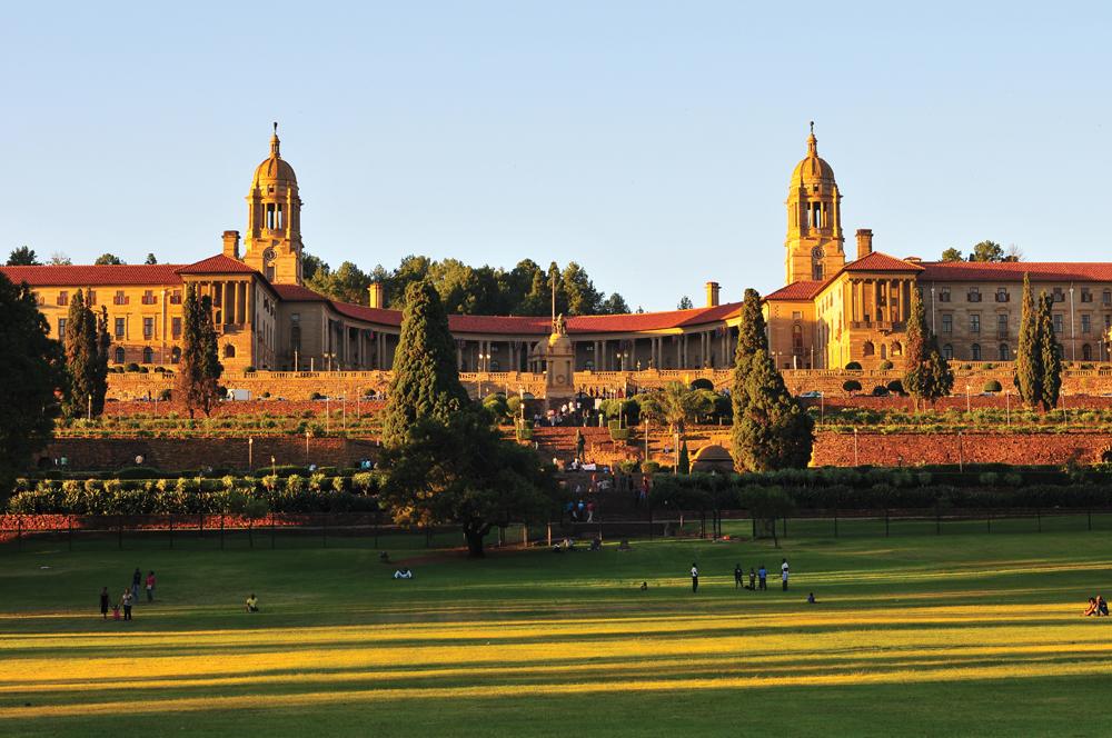 Union Buildings, Pretoria at Sunset, South Africa