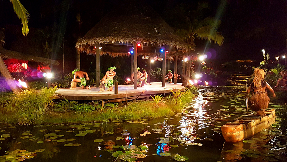 Alejandro - Cultural Show at Te Vara Nui Village, Rarotonga, Cook Islands