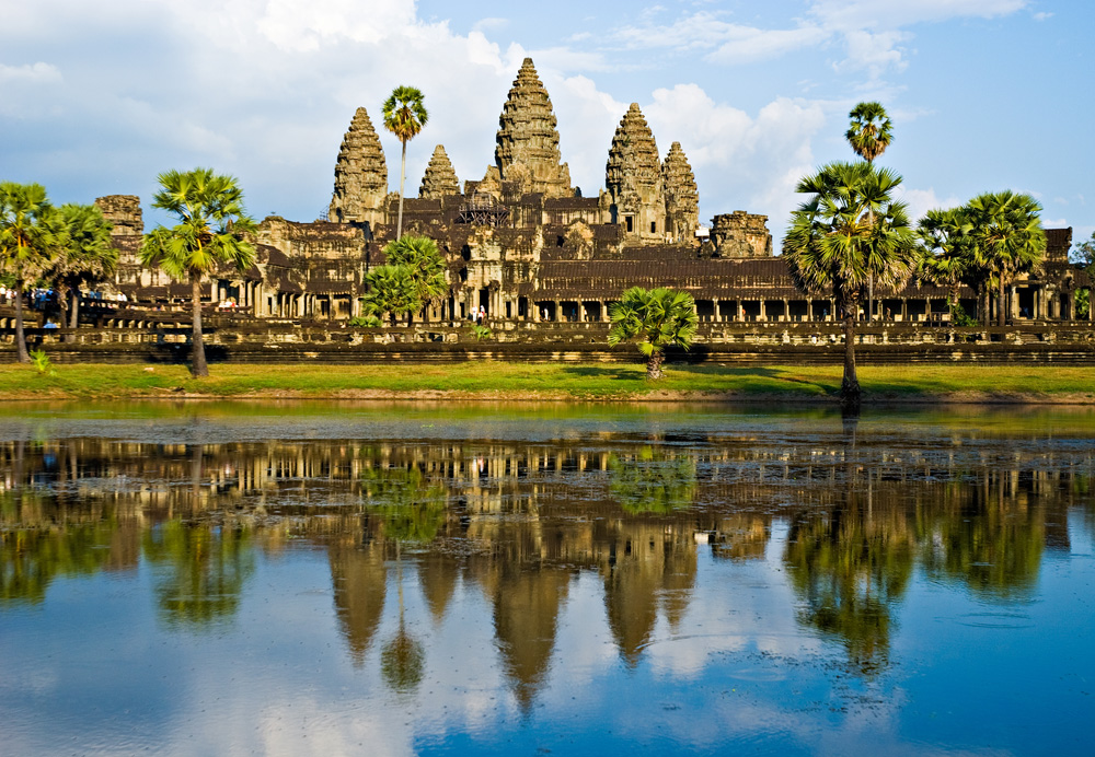 Angkor Wat with Reflection, Siem Reap, Cambodia