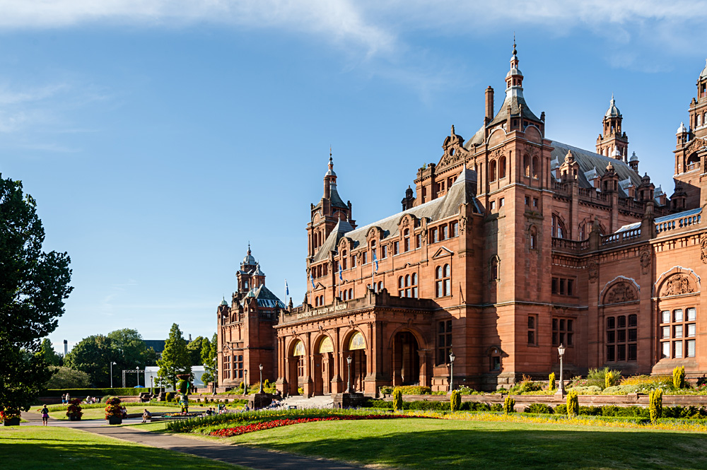 Kelvingrove Art Gallery and Museum in Glasgow, Scotland, UK (United Kingdom)