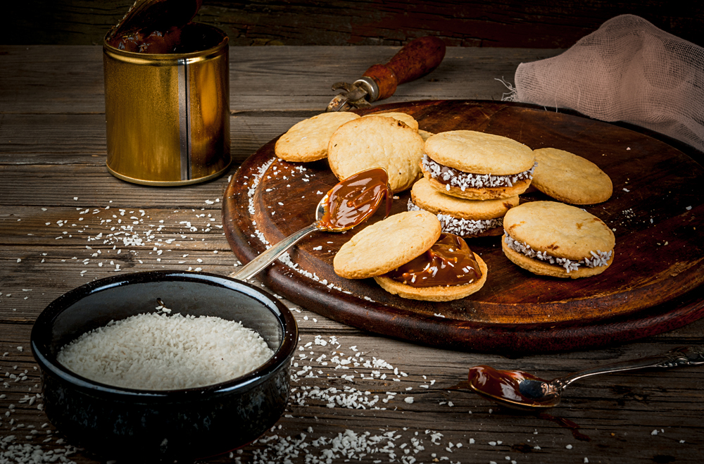 Making Alfajores, South America
