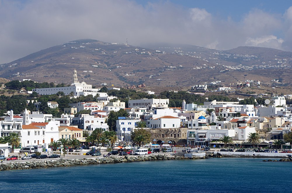 Port of Tinos Island, Greece
