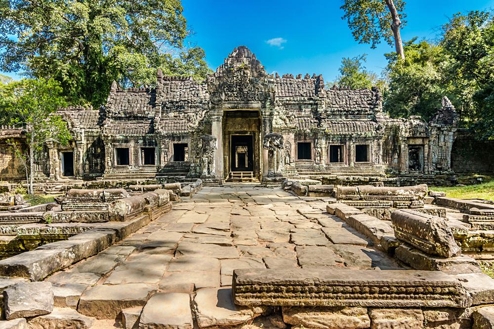 Preah Khan, Angkor Wat Complex, Siem Reap, Cambodia