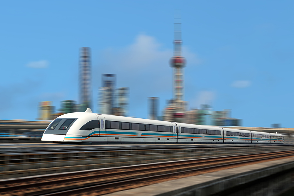 Shanghai Maglev train, China