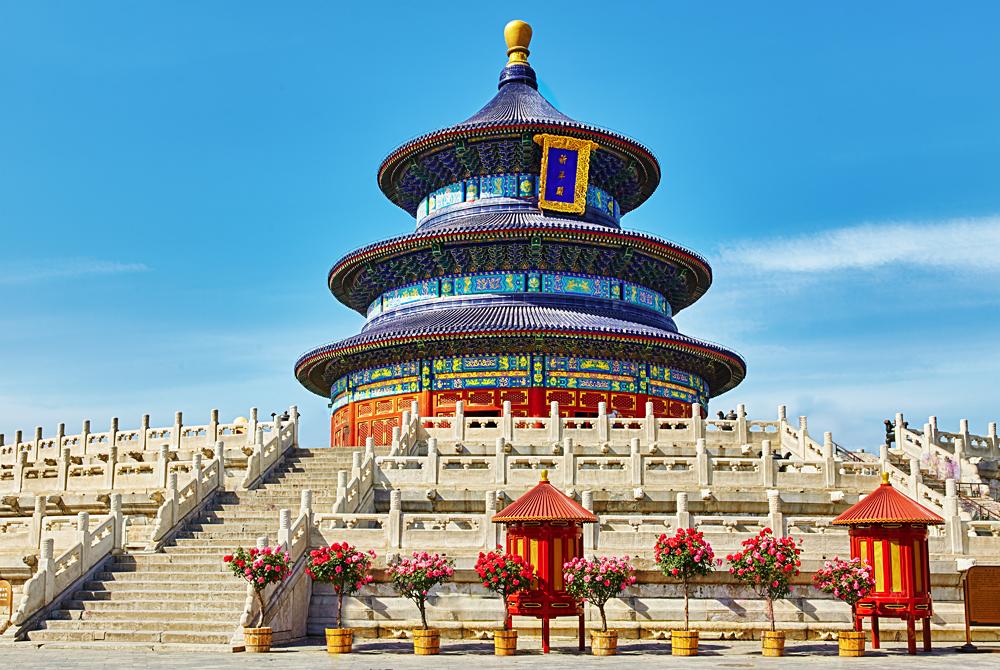 Temple of Heaven in Beijing, China