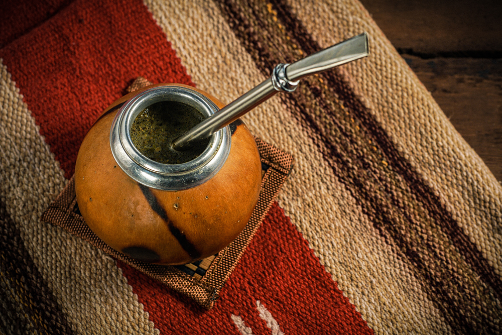 Yerba Mate with Bombilla, Argentina