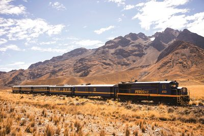 Belmond Andean Explorer train, Peru