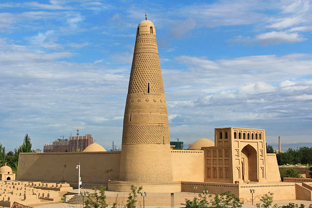 Emin Minaret and Mosque in Turpan, Xinjiang, China